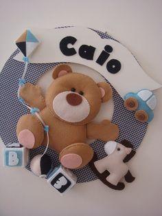 Amigas do Feltro: Inspiração para ursinhos
