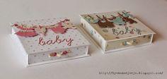 Картина, корзина, картонка и ...: Коробочки