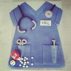 Torte für eine  Krankenschwester
