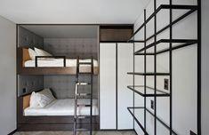 Labics, Alessandra Chemollo · D apartment Boy Room, Kids Room, Interior And Exterior, Interior Design, Bunk Beds, Building, House, Furniture, Home Decor