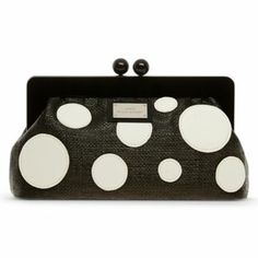 @Laura Jayson Mcfarlane by Lulu Guinness Bubbles Frame Clutch