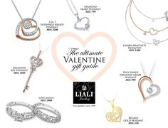 The Ultimate Valentine Jewellery Gift Guide Key Pendant, Gold Pendant, Christmas Brochure, Winning Time, Jewelry Gifts, Jewellery, Marriage Anniversary, Love Band, Valentines Jewelry