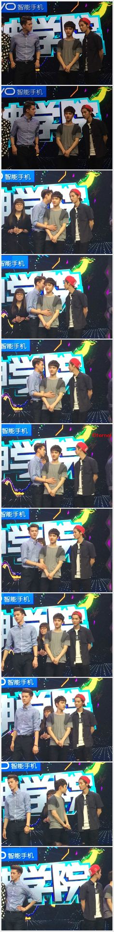 140611 EXO @ Happy Camp - Sehun & Luhan moments #HunHan ♥