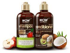 WOW Apple Cider Vinegar Shampoo | Safe & Effective for All Hair Types!