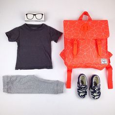 It's Monday! featuring the serenity short sleeve tee, slim pant, new spring backpack and glow in the dark shark print Boy Fashion, Fashion Ideas, Cute Boy Outfits, Herschel Backpack, It's Monday, Boys Style, Baby Boom, Slim Pants, Kid Styles