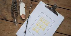 Free printables: intricate heart + bla bla bla