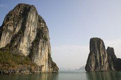 limestone karsts (Halong bay - Vietnam)