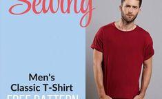 T-SHIRT ET TUTORIAL CLASSIQUE POUR HOMME GRATUIT - couture tuto, couture facile pour débutant