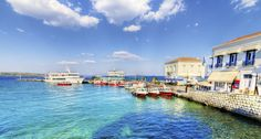 Here's some information about Spetses, a beautiful Greek island in the Saronic Gulf.