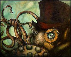Steampunk Octopus by ToxicPretty on deviantART