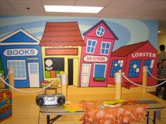 Nursery and Day Care Center Designs for corporate offices, churches, homes, children's theatre, museum, etc. in the Boston area