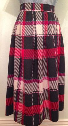 A personal favorite from my Etsy shop https://www.etsy.com/listing/251246187/early-1980s-red-and-black-plaid-wool