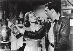 Only Angels Have Wings -- Howard Hawks. With Gary Grant, Jean Arthur, Rita Hayworth and Richard Barthelmess. Vintage Hollywood, Classic Hollywood, In Hollywood, Cary Grant, Rita Hayworth, I Movie, Movie Stars, Trailers, Jean Arthur