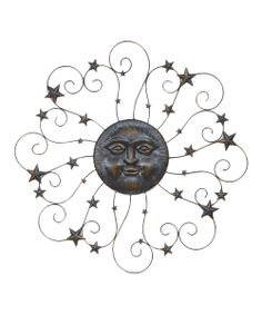 Look what I found on #zulily! Metal Sun Wall Decor by Transpac Imports #zulilyfinds