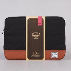 """Herschel Heritage Macbook Pro Sleeve 13"""" Black"""