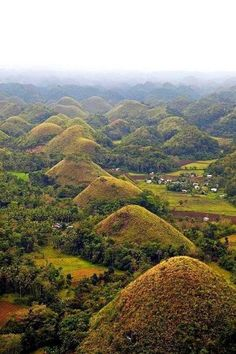 Chocolate Hills, Bohol Island - #Bohol #Chocolate #Hills #island