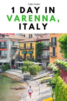 how to spend 1 day in varenna italy - the best things to see, do and eat! lake como italy, lake como travel guide, #varenna, northern italy, rick steves italy, small towns in italy, italy photography, italy travel, #shershegoes, #milan day trips, #lakecomo