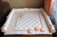 Уютный домик: Покрывало на пеленальный столик для девочки