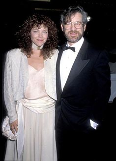 Steven Spielberg and Amy Irving---The famed director met actress Irving when she auditioned for a role in his 1977 project, Close Encounters of the Third Kind and walked down the aisle eight years later, on the heels of Spielberg's mega-hits E.T. and Indiana Jones. Calling it quits after four years of marriage, Irving contested the validity of their prenuptial agreement (reportedly scrawled on a cocktail napkin) and was awarded $100 million.