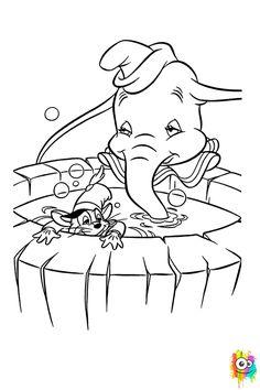 Dibuixo Dumbo I El Ratoli Timoteo Dumbo Dibujos Dibujos Para Preescolar