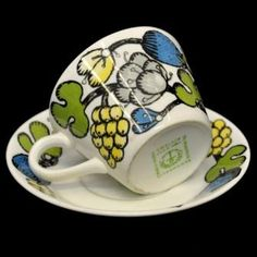 Riviera från Gustavsberg Teacups, Tea Time, Coffee Cups, Ceramics, Mugs, Tableware, Design, Ceramica, Coffee Mugs