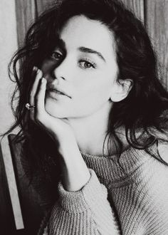Emilia Clarke - She is so beautiful, it's incredible! I just love Daenerys so much, she's one of my favourite characters in the books and in the show as well :)
