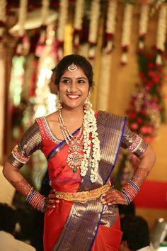 Golden threads kanchi sarees #kavitha gutta