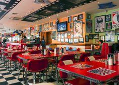 The American Diner, Brighton Beach, UK by Ian Lloyd-Graham