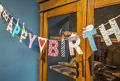 2 Meter Happy Birthday Girlande für Kindergeburtstag                                                                                                                                                                                 Mehr