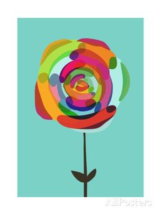 Rose by Any Other Color Giclee Print by Budi Kwan at AllPosters.com