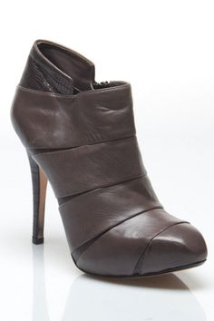 Max Studio Croatia Ankle Boot In Gray -