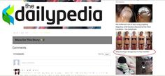 Dailypedia  Advertisement fail