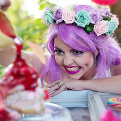 Whole Lotta Rosie Crown - Ice Cream Dream £30, Crown and Glory