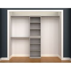 Great for Modular Storage 38 Stackable Shelf Unit by ClosetMaid storage-sale from top store Modular Closets, Modular Storage, Shoe Storage, Small Closet Storage, Shoe Racks, Closet Renovation, Closet Remodel, Closet Bedroom, Closet Space