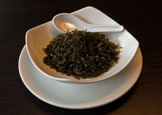 Srispy seeweed in blossom restaurant