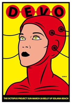 Devo | Pin by Vail Natural Medicine on Music Posters | Pinterest
