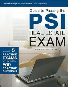 Guide to Passing the PSI Real Estate Exam, 6th