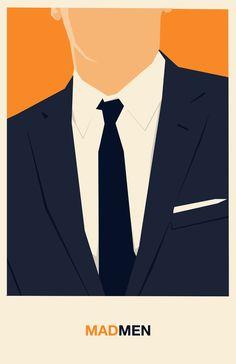 Mad Men (2007–2015) ~ Minimal TV Series Poster by Travis English