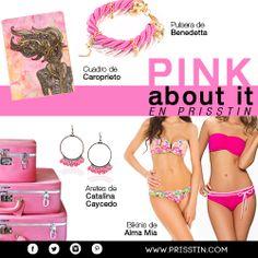 PINK ABOUT IT: En los días grises piensa en rosa!