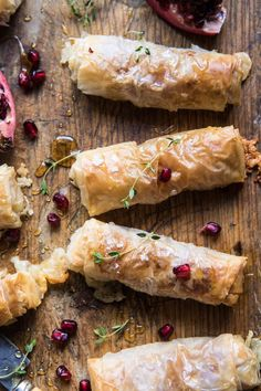 Baked Brie and Prosciutto Rolls : halfbakedharvest Fingerfood Recipes, Half Baked Harvest, Appetisers, Appetizers For Party, Clean Eating Snacks, Finger Foods, Foodies, Food And Drink, Cooking Recipes
