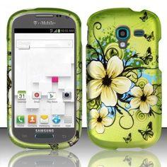 Zizo Design Hard Cover Samsung Galaxy Exhibit Case - Hawaiian Flowers