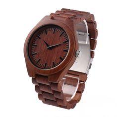 Wholsaler Low MOQ Watches Men Custom Wooden Watch