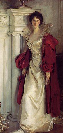Winifred, Duchesse de Portland, huile sur toile de John Singer Sargent, 1902