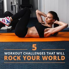 5 Workout Challenges That Will Rock Your World!  #fitnesschallenges #challenge #weightloss