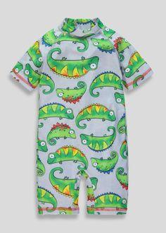 a49356615ab Kids Lizard Surf Suit (3mths-5yrs). Matalan