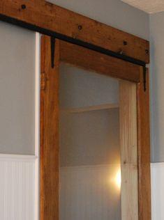 Hometalk :: Exterior storm door to interior sliding door