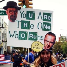 Walt has spoken / The 35 Best Signs From The NYC Marathon (via BuzzFeed)