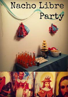 nacho libre party : radmomcoolkid.com #nacholibreparty #nacholibre #birthdaypartyideas