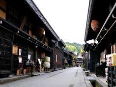 Old streets in Takayama, Gifu