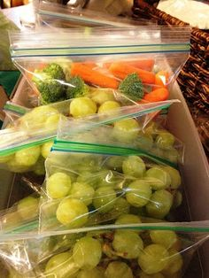 Organize summer snacks for kids and encourage healthy eating.